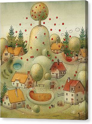 Hill Canvas Print by Kestutis Kasparavicius