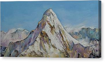 Himalayas Canvas Print by Michael Creese