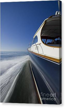 Hinckley Talaria 44 Motor Yacht Canvas Print by Dustin K Ryan