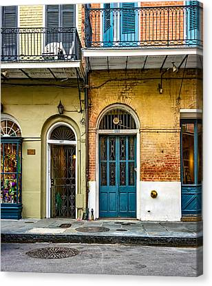 Historic Entrances Canvas Print by Steve Harrington