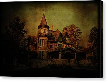Historic House Canvas Print by Joel Witmeyer
