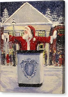 Ho Ho Go... Canvas Print by Jack Skinner