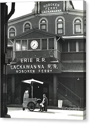 Hoboken Ferry C1966 Canvas Print by Erik Falkensteen