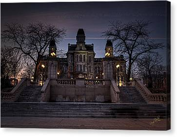 Hogwarts - Hall Of Languages Canvas Print by Everet Regal