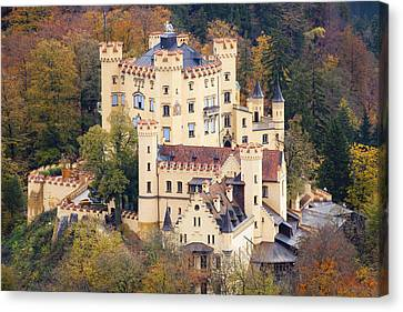 Hohenschwangau Castle Canvas Print by Andre Goncalves
