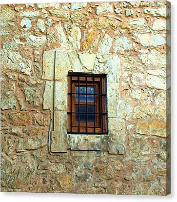 Hole In The Wall Canvas Print by James Granberry