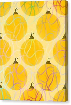 Holiday Bling Canvas Print by Kathleen Sartoris