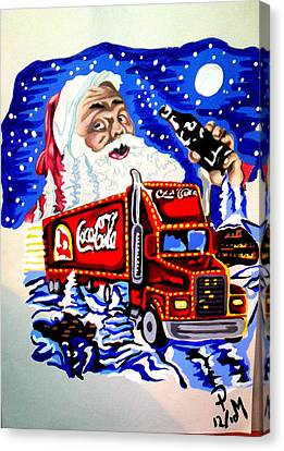 Holiday's Are Coming... Canvas Print by Pauline Murphy