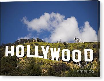 Hollywood Sign Canvas Print by Anthony Citro