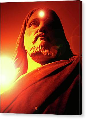 Holy Face No. 12 Canvas Print by Ramon Labusch