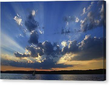 Holy Grail - Lake Geneva Wisconsin Canvas Print by Bruce Thompson