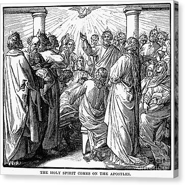Holy Spirit Visiting Canvas Print by Granger