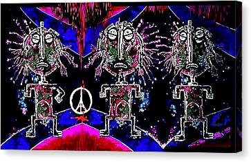 Holy  Warriors Canvas Print by Hartmut Jager