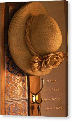 Home Is Where Canvas Print by Holly Kempe