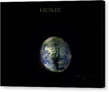 Home Canvas Print by Phillip H George