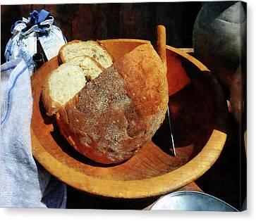 Homemade Bread Canvas Print by Susan Savad