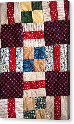 Homemade Quilt Canvas Print by Christopher Holmes