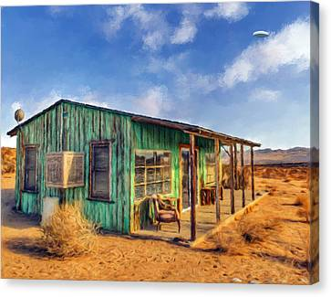 Homestead Cabin 2 Canvas Print by Snake Jagger