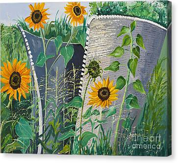 Honeycomb Canvas Print by Sweta Prasad