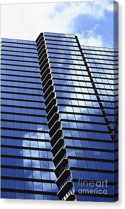 Honolulu Skyscraper Canvas Print by Brandon Tabiolo - Printscapes