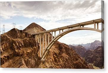 Hoover Dam Bridge, Nevada Canvas Print by Phong Trinh