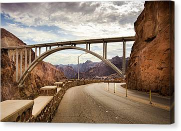 Hoover Dam Bridge Canvas Print by Phong Trinh