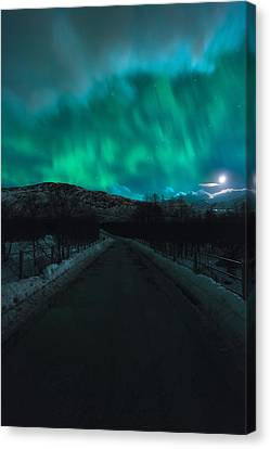 Hope In Light Canvas Print by Tor-Ivar Naess