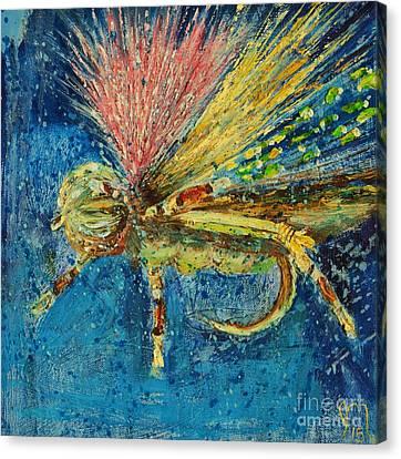 Hopper Fly Canvas Print by Jodi Monahan
