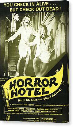 Horror Hotel, Aka City Of The Dead Canvas Print by Everett