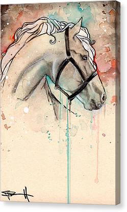 Horse Canvas Print by Sean Parnell