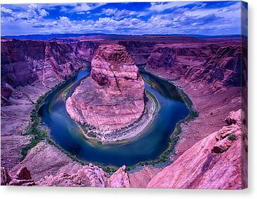 Horseshoe Bend Canvas Print by Garry Gay