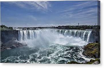 Horseshoe Falls Canvas Print by Stephen Stookey
