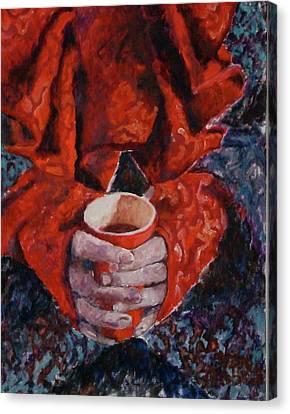 Hot Chocolate Canvas Print by Elisabeth De Vries