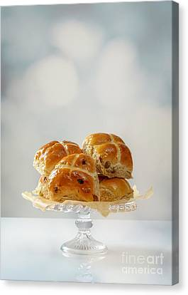 Hot Cross Buns Display Canvas Print by Amanda And Christopher Elwell