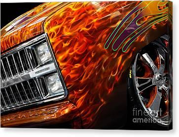 Hot Rod Chevrolet Scotsdale 1978 Canvas Print by Oleksiy Maksymenko