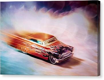 Hot Rod Racer Canvas Print by Scott Norris