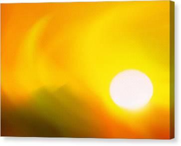 Hot Summer Sun 2 Canvas Print by Steve Ohlsen
