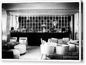 Hotel Bar Canvas Print by John Rizzuto
