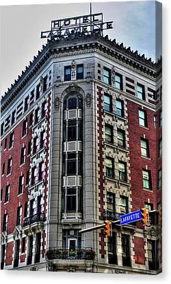 Hotel Lafayette Series 0003 Canvas Print by Michael Frank Jr