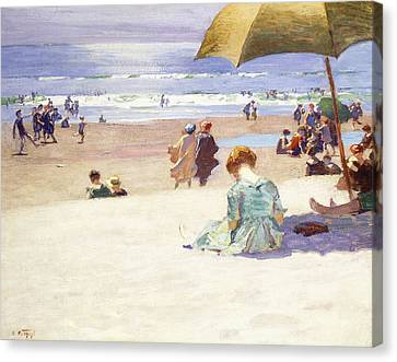 Hour Tide Canvas Print by Edward Henry Potthast