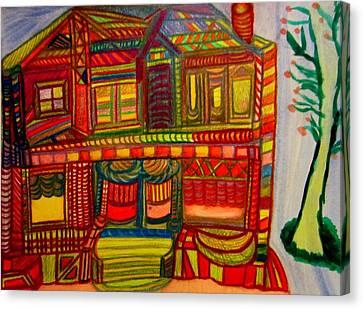 House Beautiful Canvas Print by Stephanie Zelaya