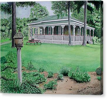 House Of David Canvas Print by Ferrel Cordle