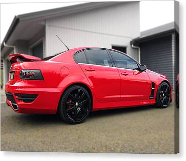 Hsv Gts Canvas Print by Les Cunliffe