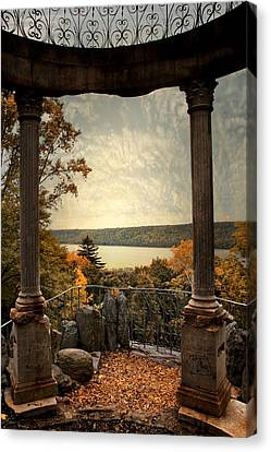 Hudson River Overlook Canvas Print by Jessica Jenney