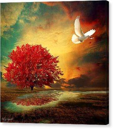 Hued Canvas Print by Lourry Legarde