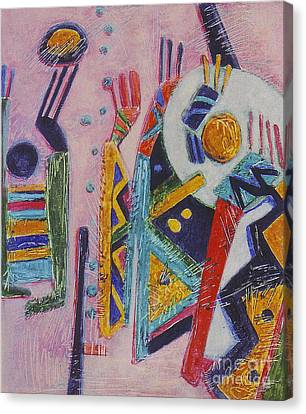 Huevos Rancheros Canvas Print by Pamela Iris Harden