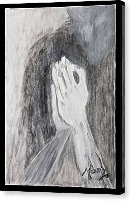 Humility Canvas Print by Marinela Croitoru