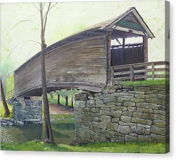Humpback Bridge Canvas Print by J Luis Lozano