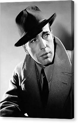Humphrey Bogart Canvas Print by Mountain Dreams
