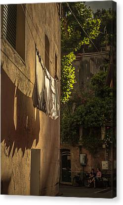 Hung Out To Dry Canvas Print by Chris Fletcher